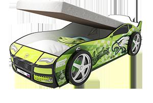 Турбо Гудзон с подъемным матрасом - кровать-машинка.